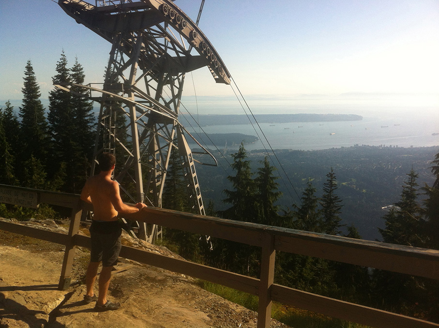 Grouse Grind in Vancouver