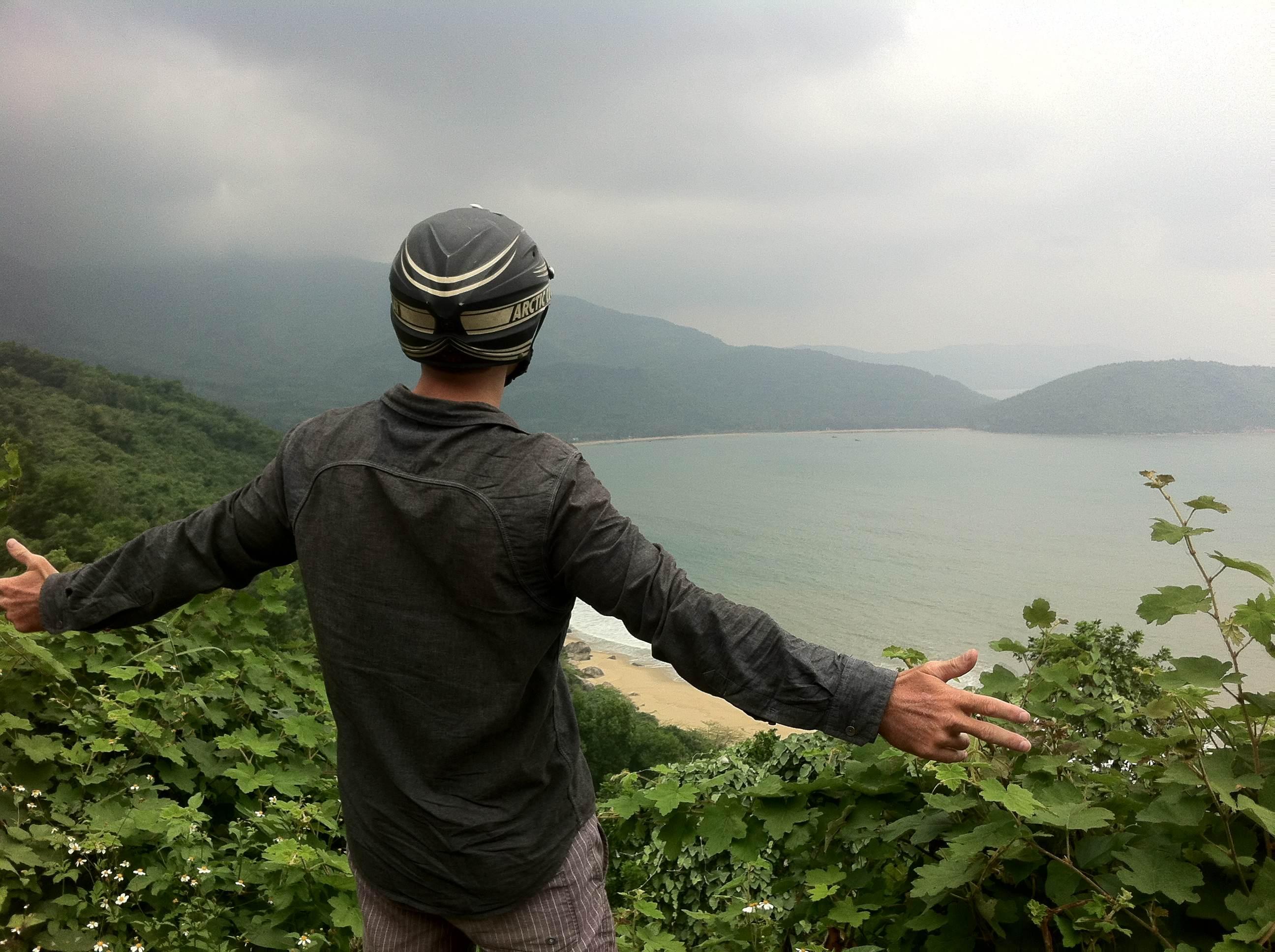 Central Vietnam, north of Da Nang.