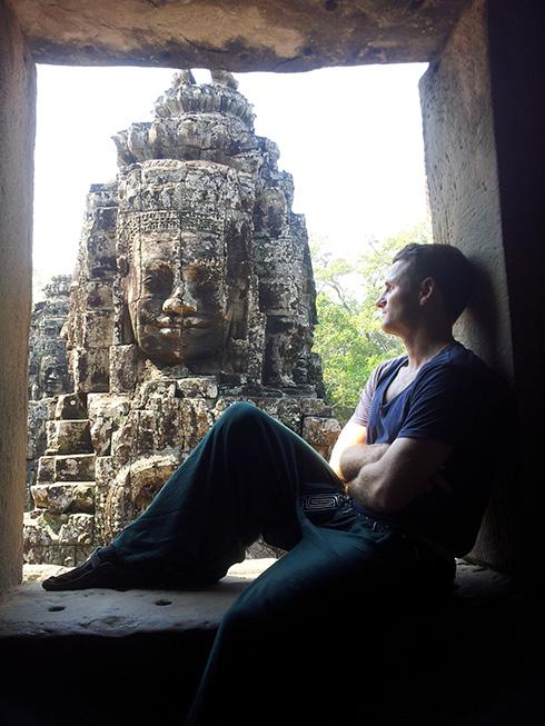 Bayon, Cambodia.